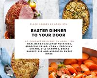 Easter Dinner to your Door with Occasions By Cory