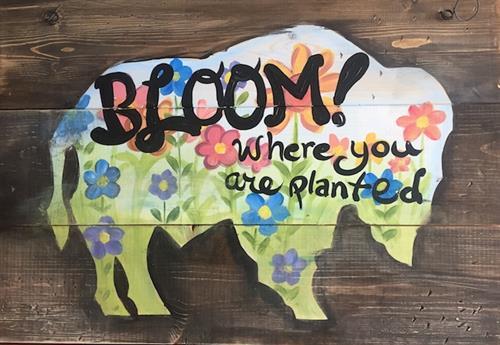 Buffalo Bloom at Artisan Alley