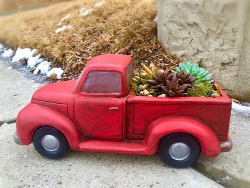 Truck Planter at Artisan Alley