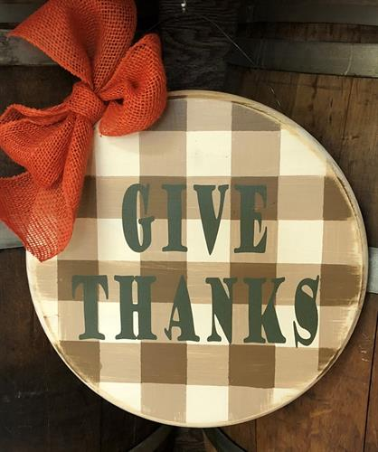 Give Thanks at Artisan Alley