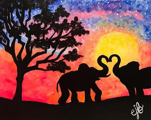 Elephants in Love  at Artisan Alley
