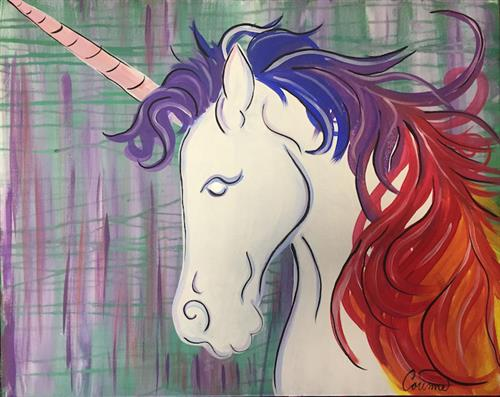 Unicorn at Artisan Alley