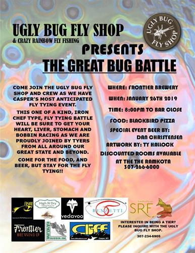 Ugly Bug Fly Shop's Great Bug Battle