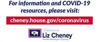 Congresswoman Liz Cheney Newsletter Coronavirus Update
