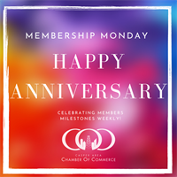Member Anniversaries 1/3/21 - 1/9/21