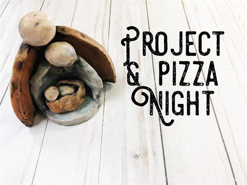 Project & Pizza Night at Pottery By You
