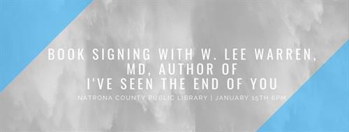 Book Signing with W. Lee Warren, MD.