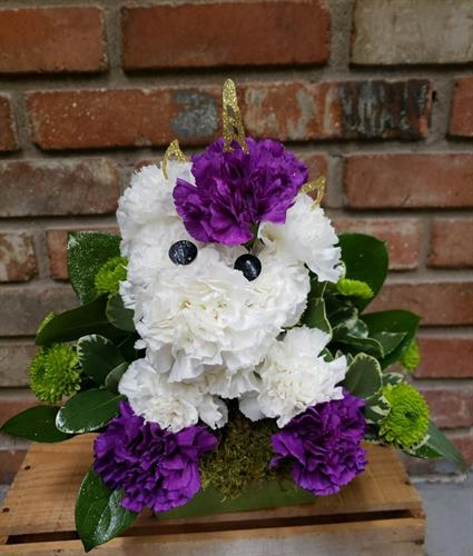 Unicorn Workshop at Keefe's Flowers