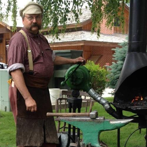 Blacksmithing with David Osmundsen