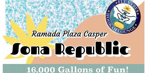 Sona Republic Pool Party at the Ramada