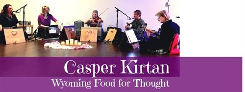 Casper Kirtan at Wyoming Food for Thought