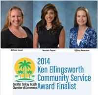 Delray Beach Chamber Community Service Finalist: The Ruhl Financial Group's Noreen Payne