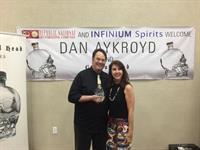 Dan Aykroyd with Ytonna (member)