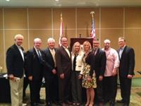PB Bord members with Carol Dover - FRLA CEO & President