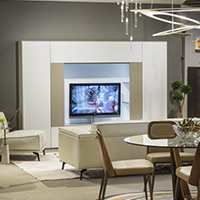 Find the right modern wall unit at Sklar Furnishings