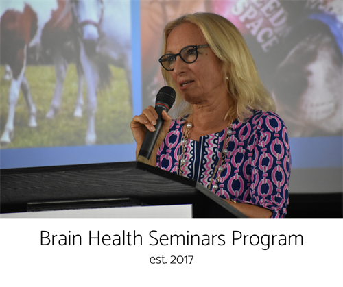 Our Brain Health Seminars program allows us to educate our community on brain health as well as benefits of playing sports.