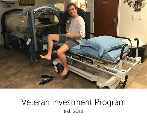 Along with our Civilian Concussion Program, our Veteran Investment Program was established in 2014.