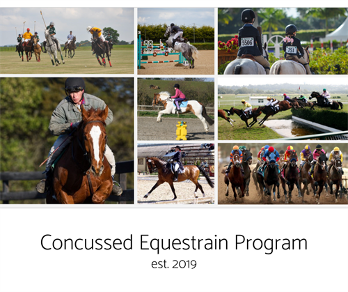 Concussions can also affect the equestrian community. We created this program to help riders get access to HBOT.