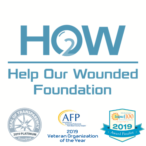 Help Our Wounded Foundation Logo (& Honors)