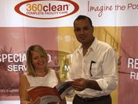 Rita and Rachid El Gani attend industry trade shows to bring you the latest in cleaning technology.