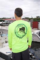 Mens performance long sleeve Caloosa Fishing Team