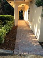 Dr. Alexander, Front walk of Office