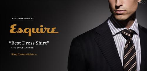 """Esquire """"Best Dress Shirt"""""""