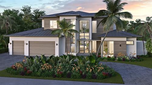 Coconut Palm Estate Development in Tropic Isle
