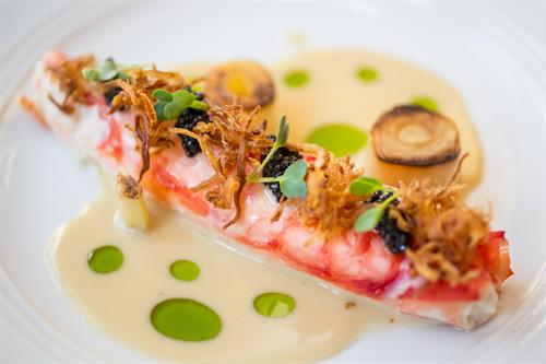 Butter-Poached King Crab Leg