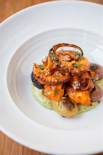 Spicy Grilled Octopus