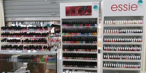 Huge selection of Essie, OPI and Essie Gel Coutour