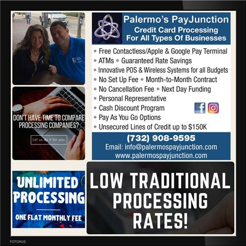 We offer many products, services and options to save all businesses money on their credit card processing.