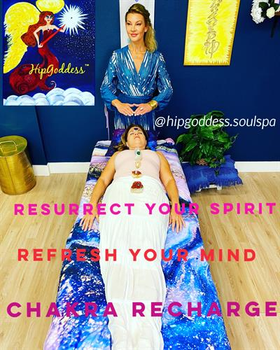 Chakras and auras must have a workout too! This invigorating treatment is a must!