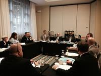 Breakfast meeting prior to Lobbying, DAB, DA