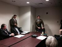 Meeting with Senator Aaron Beane