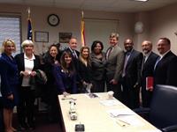 lobbying Rep Daphne Campbell 2-12-14