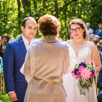 Ceremony at Schlitz Audubon Nature Center, Bayside, WI
