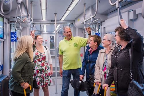 Not only does Milwaukee Food & City Tours offer bus and walking tours, but we explore on The Hop, Milwaukee's newest streetcar.