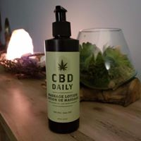 Add CBD to your massage.