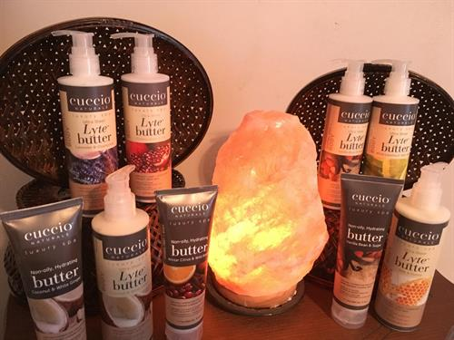 Add Body Butter for Aromatherapy to your massage.