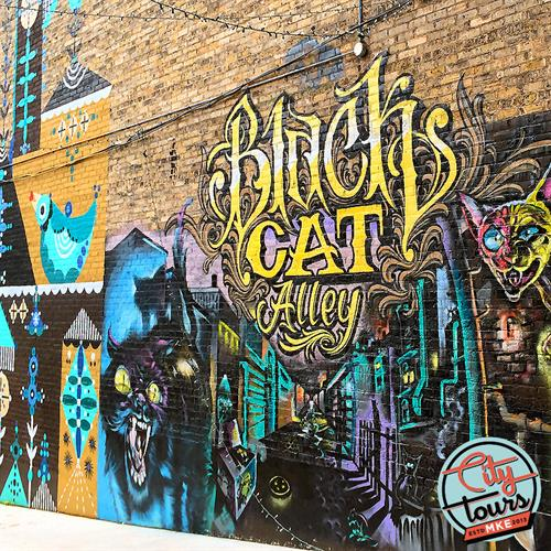 Black Cat Alley/ Discover Iconic Milwaukee
