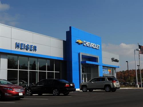 Heiser Chevrolet Cadillac - West Bend