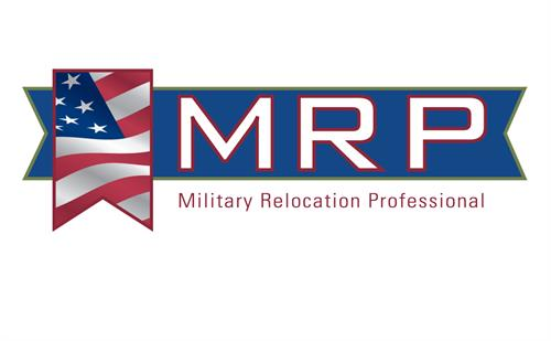 Military Relocation Professional Designation- Helping those who have served or are serving our country.