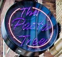 The Pasta Tree sign