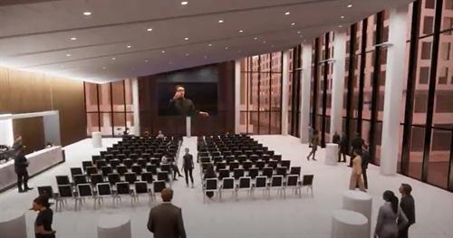 Atrium Corporate Event