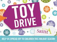 To donate to our Toy Drive, visit www.sainta.org/toys
