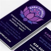 Logo Design and Business Card Design for Kara Catrelle
