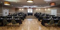 Tuscanny Ballroom - classroom style for up to 126 guests