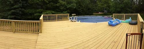 CHI offers years of experience in project planning and design for your custom wood deck or fence projects.