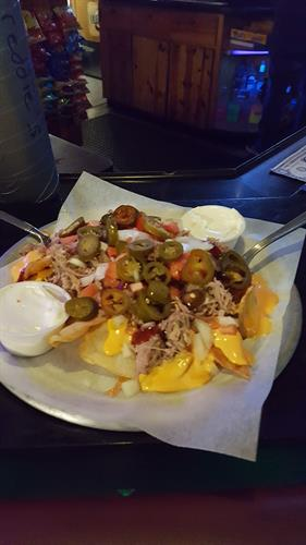 Pulled Pork Nachos $7 every day!